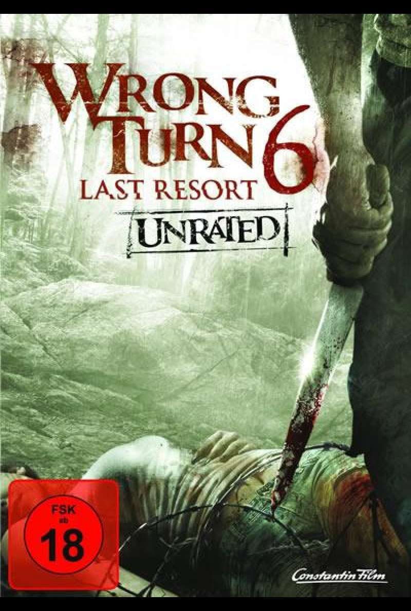Wrong Turn 6: Last Resort - DVD-Cover