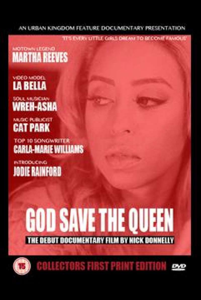 God Save The Queen von Nick Donnelly - Filmplakat (klein)