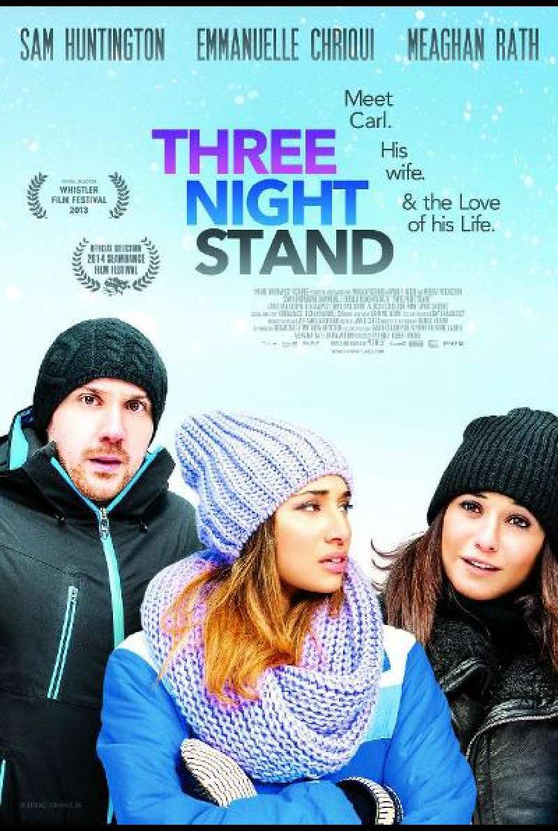 Three Night Stand von Pat Kiely - Filmplakat (CA)