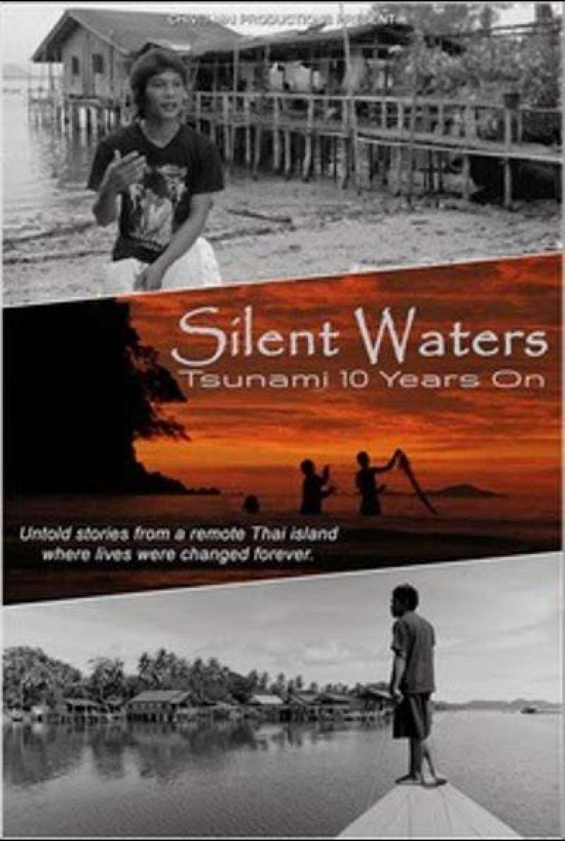 Silent Waters: Tsunami 10 Years On von Mike Thomas - Filmplakat (INT) (klein)