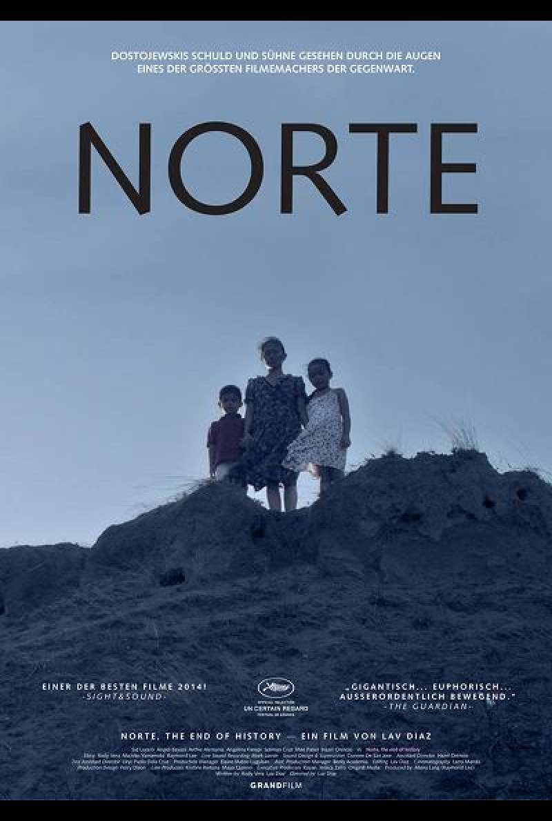 Norte, The End of History - Filmplakat
