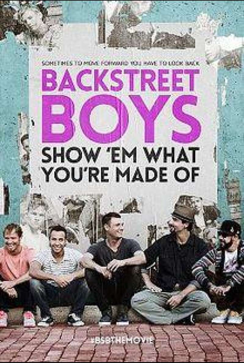 Backstreet Boys: Show 'Em What You're Made Of von Stephen Kijak - Filmplakat (klein)