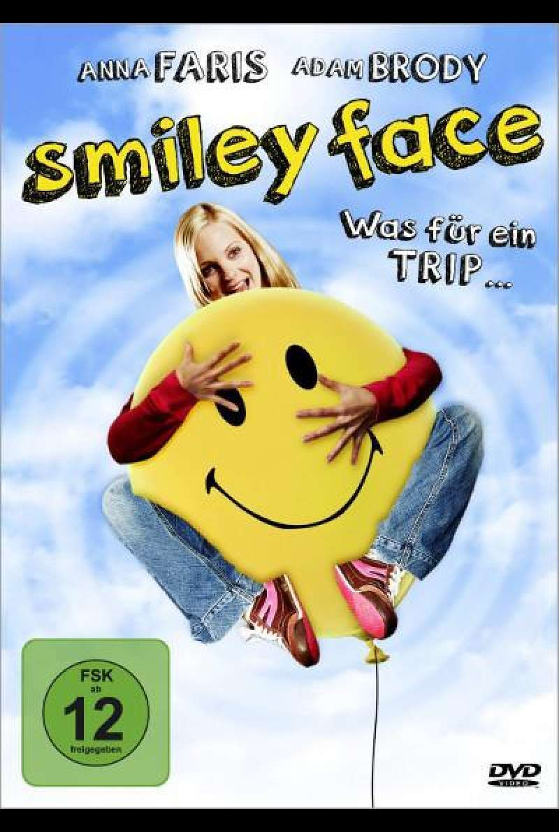 Smiley Face von Gregg Araki - DVD-Cover