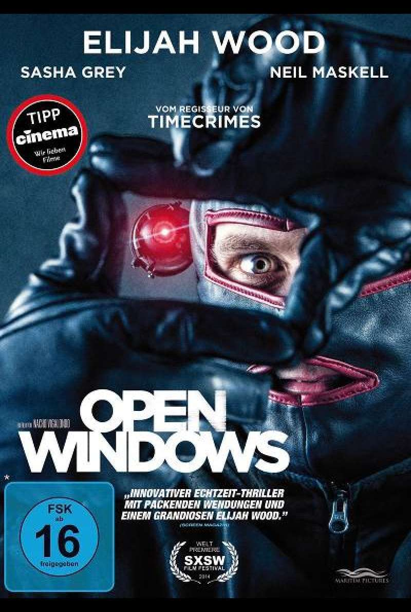 Open Windows - DVD-Cover