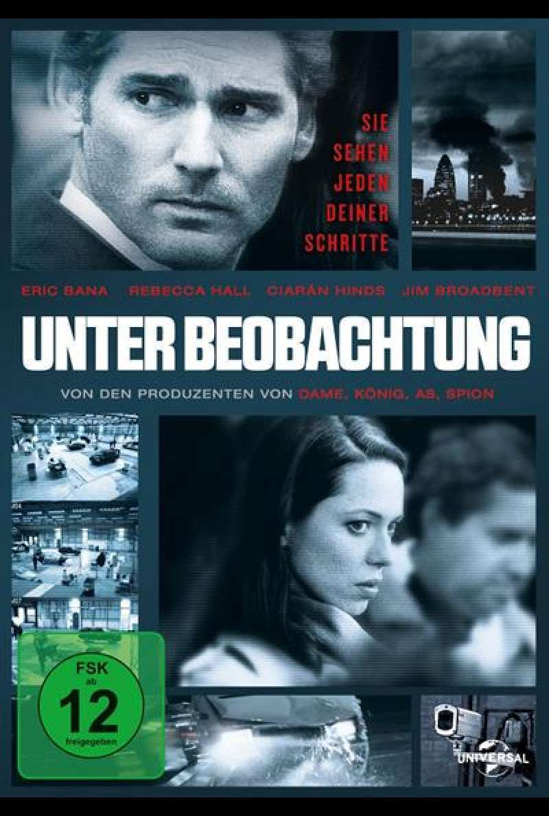 Unter Beobachtung - DVD-Cover