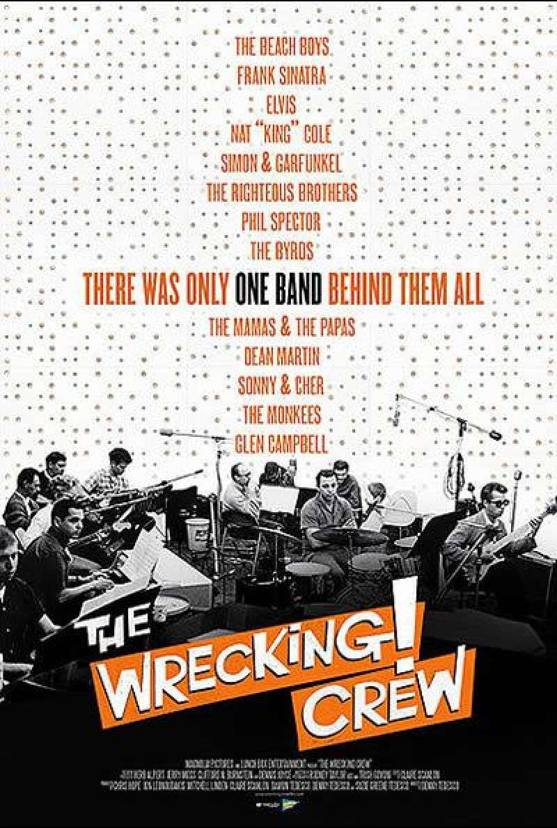 The Wrecking Crew - Filmplakat (US)