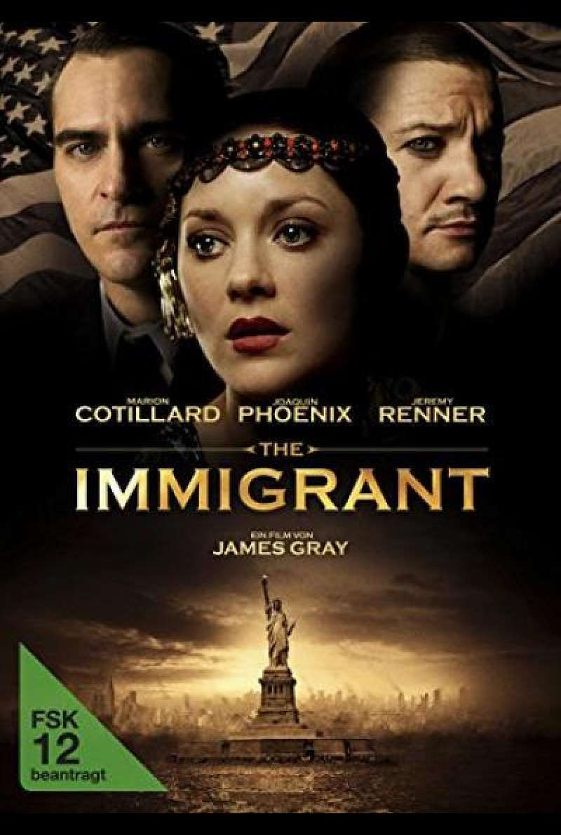 The Immigrant - DVD-Cover