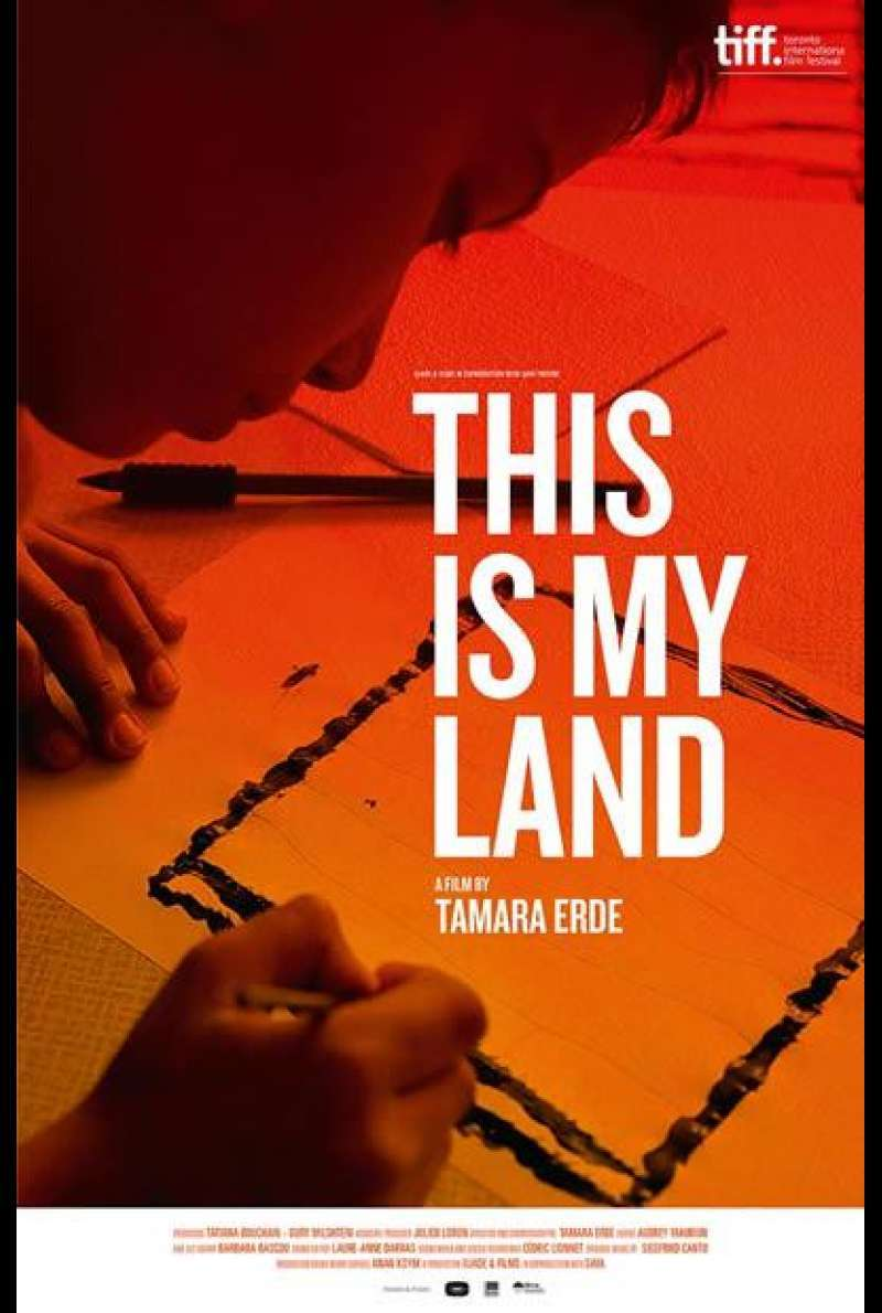 This Is My Land - Filmplakat (INT)