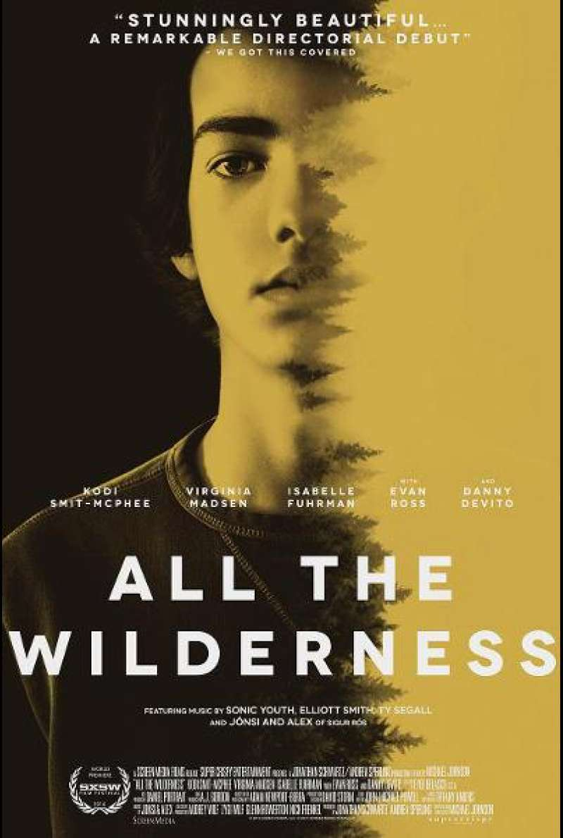 All the Wilderness - Filmplakat (US)