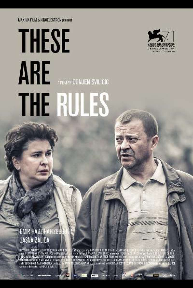 These Are The Rules von Ognjen Svilicic- Filmplakat (INT)