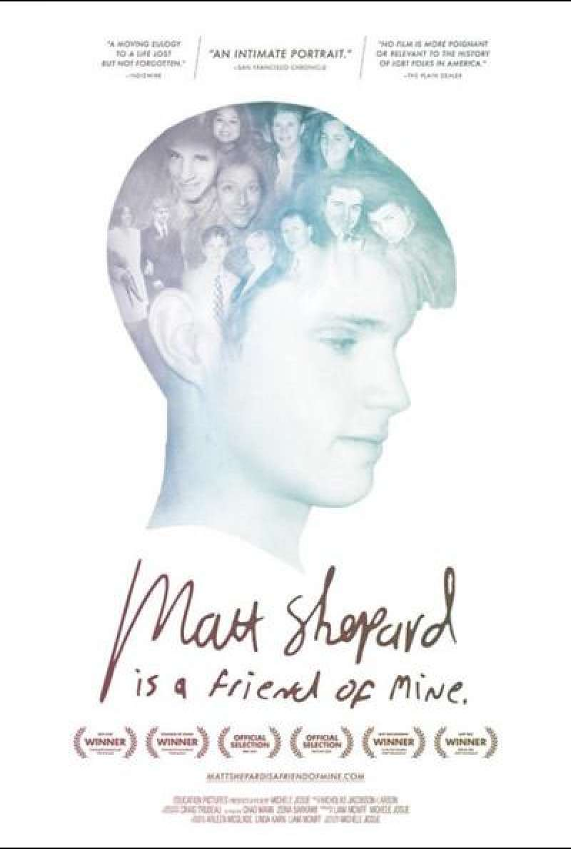 Matt Shepard Is a Friend of Mine - Filmplakat (US)