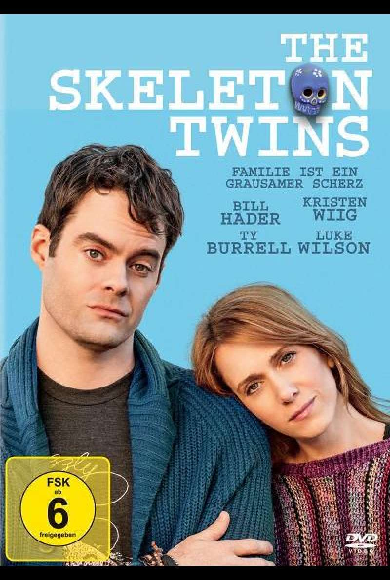 The Skeleton Twins - DVD-Cover