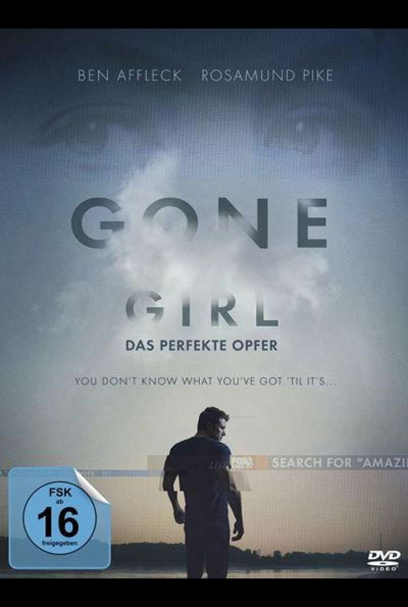 Gone Girl - Das perfekte Opfer - DVD-Cover