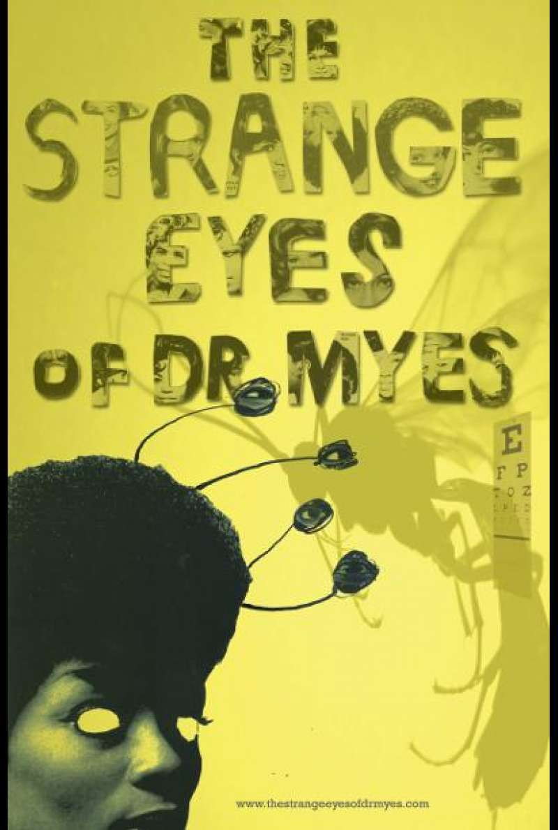 The Strange Eyes of Dr. Myes von Nancy Andrews - Filmplakat (US)