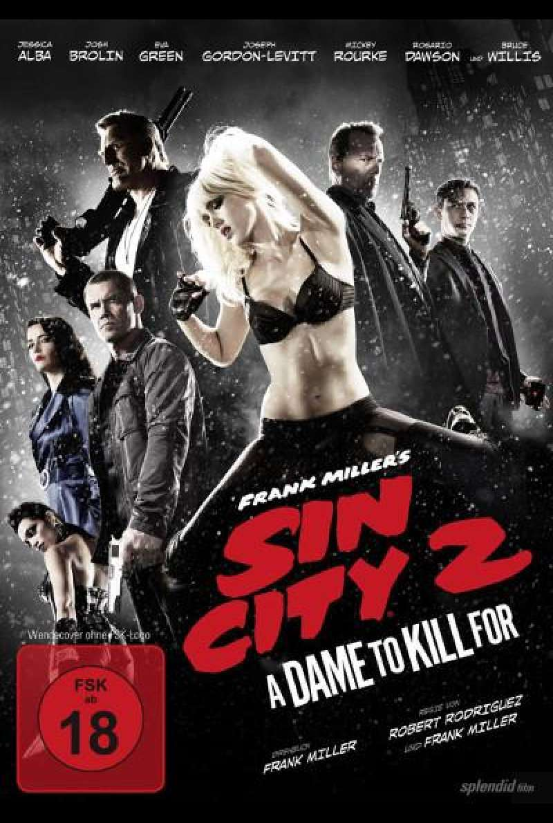 Sin City: A Dame to Kill For von Robert Rodriguez - DVD-Cover