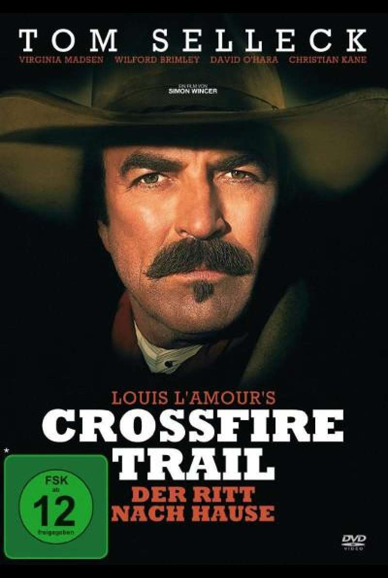 Crossfire Trail von Simon Wincer - DVD-Cover