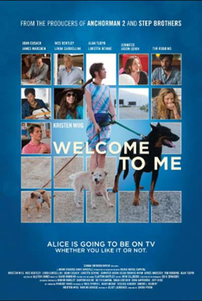 Welcome to Me - Filmplakat (US)