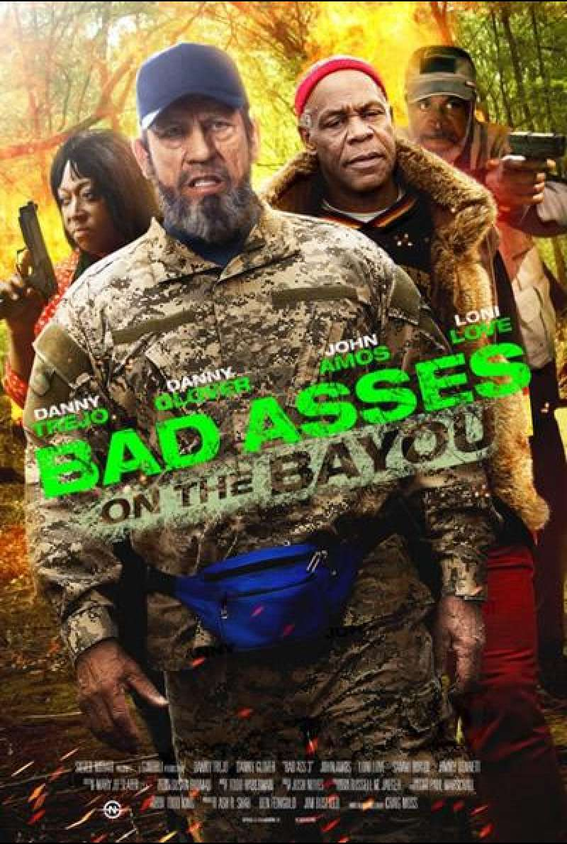 Bad Asses on the Bayou - Filmplakat (US)