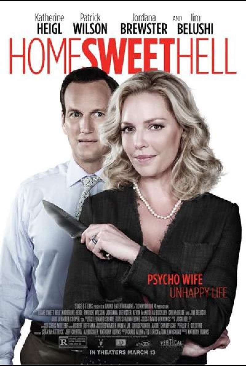 Home Sweet Hell - Filmplakat (US)
