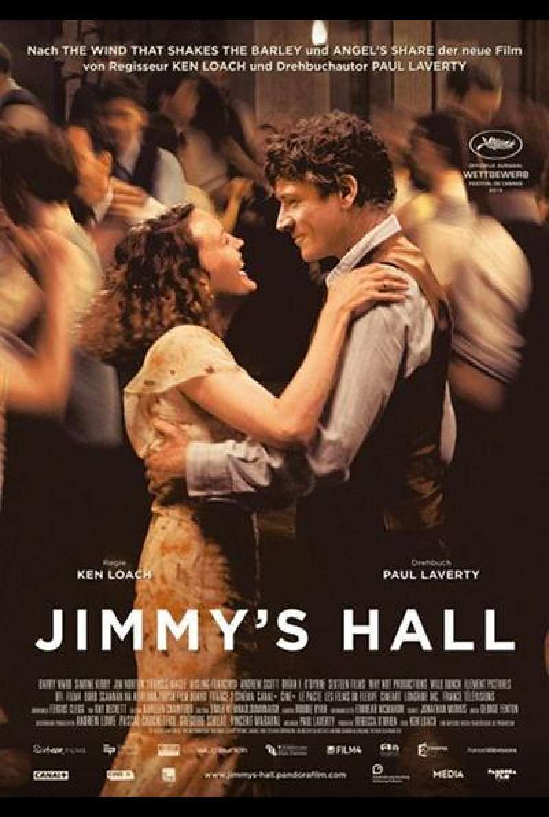 Jimmy's Hall - DVD-Cover