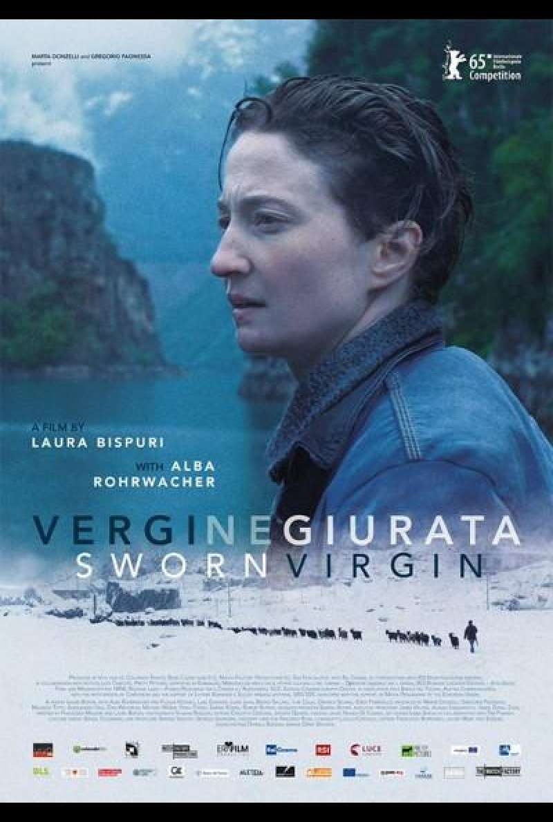Sworn Virgin von Laura Bispuri - Filmplakat (INT)