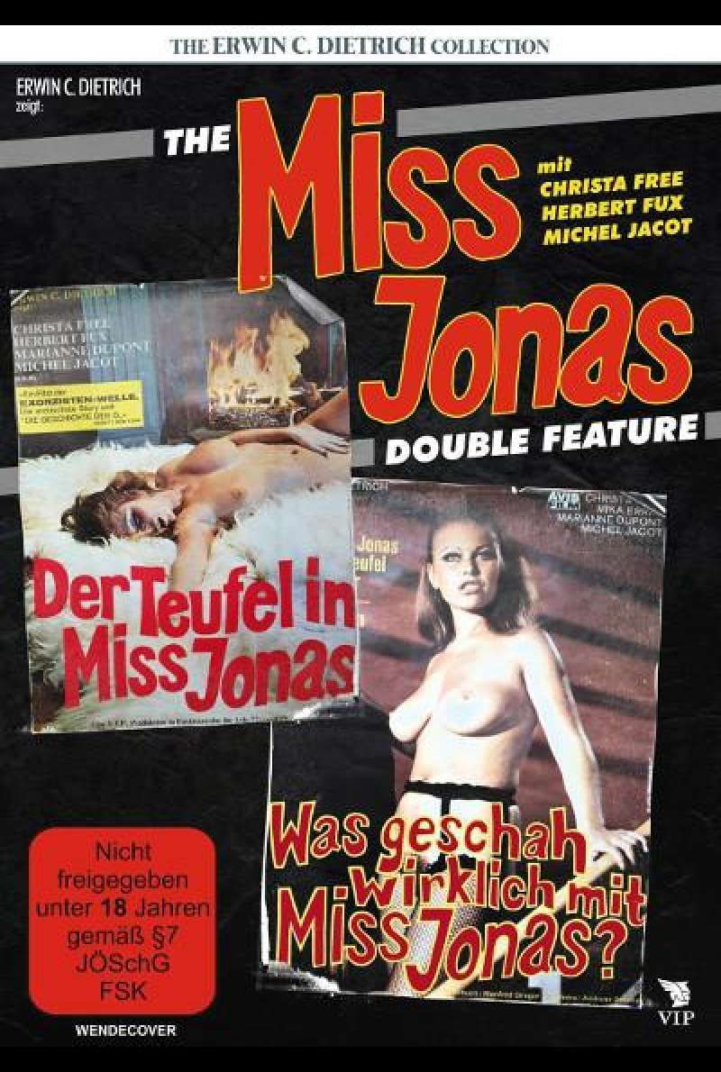 The Miss Jonas Double Feature von Erwin C. Dietrich - DVD-Cover