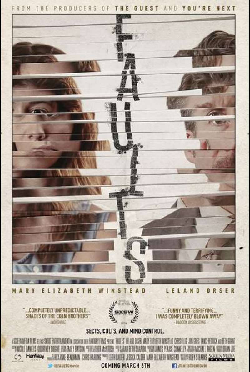 Faults - Filmplakat (US)
