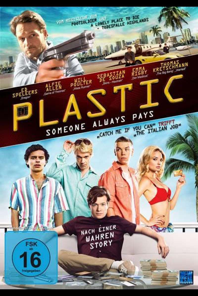 Plastic - Someone Always Pays - DVD-Cover