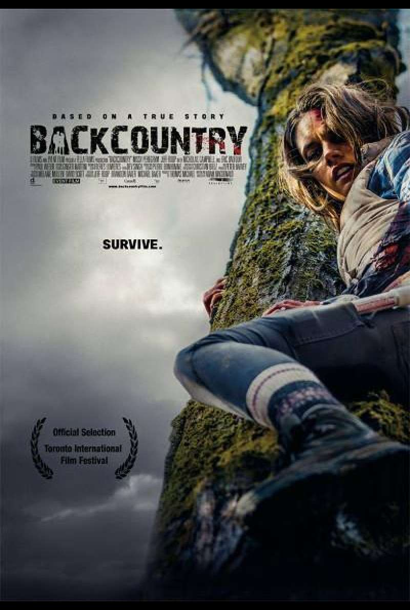Backcountry von Adam MacDonald - Filmplakat (CA)