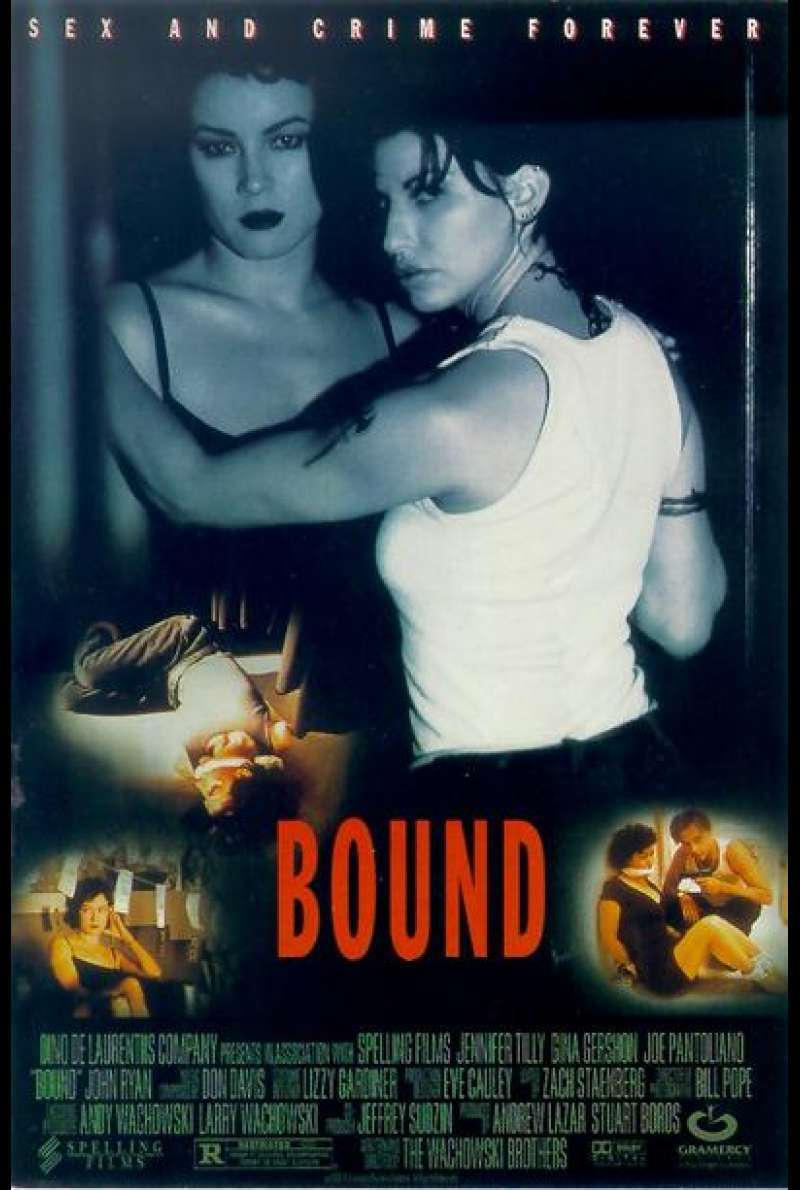 Bound - Gefesselt - Filmplakat (US)