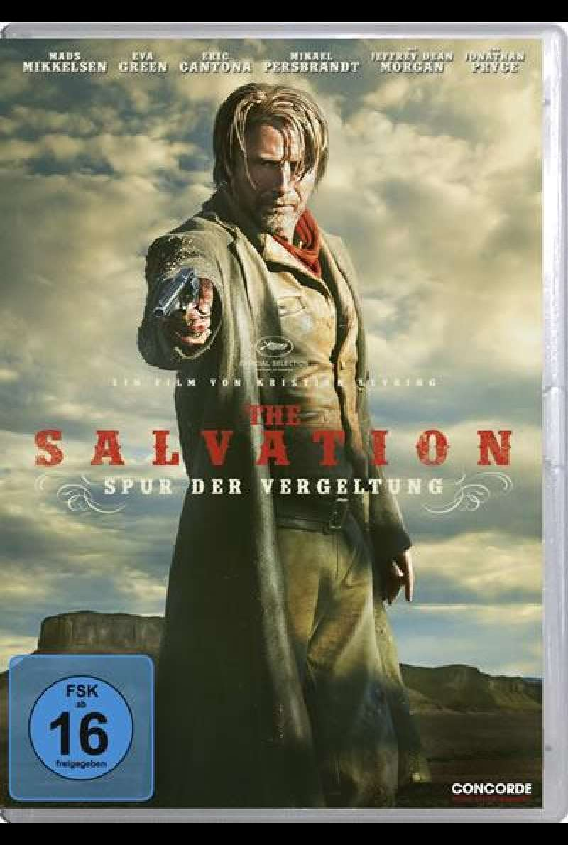The Salvation - DVD-Cover