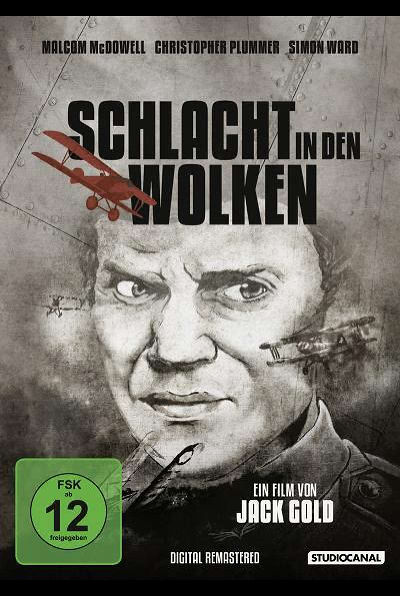 Schlacht in den Wolken - DVD-Cover