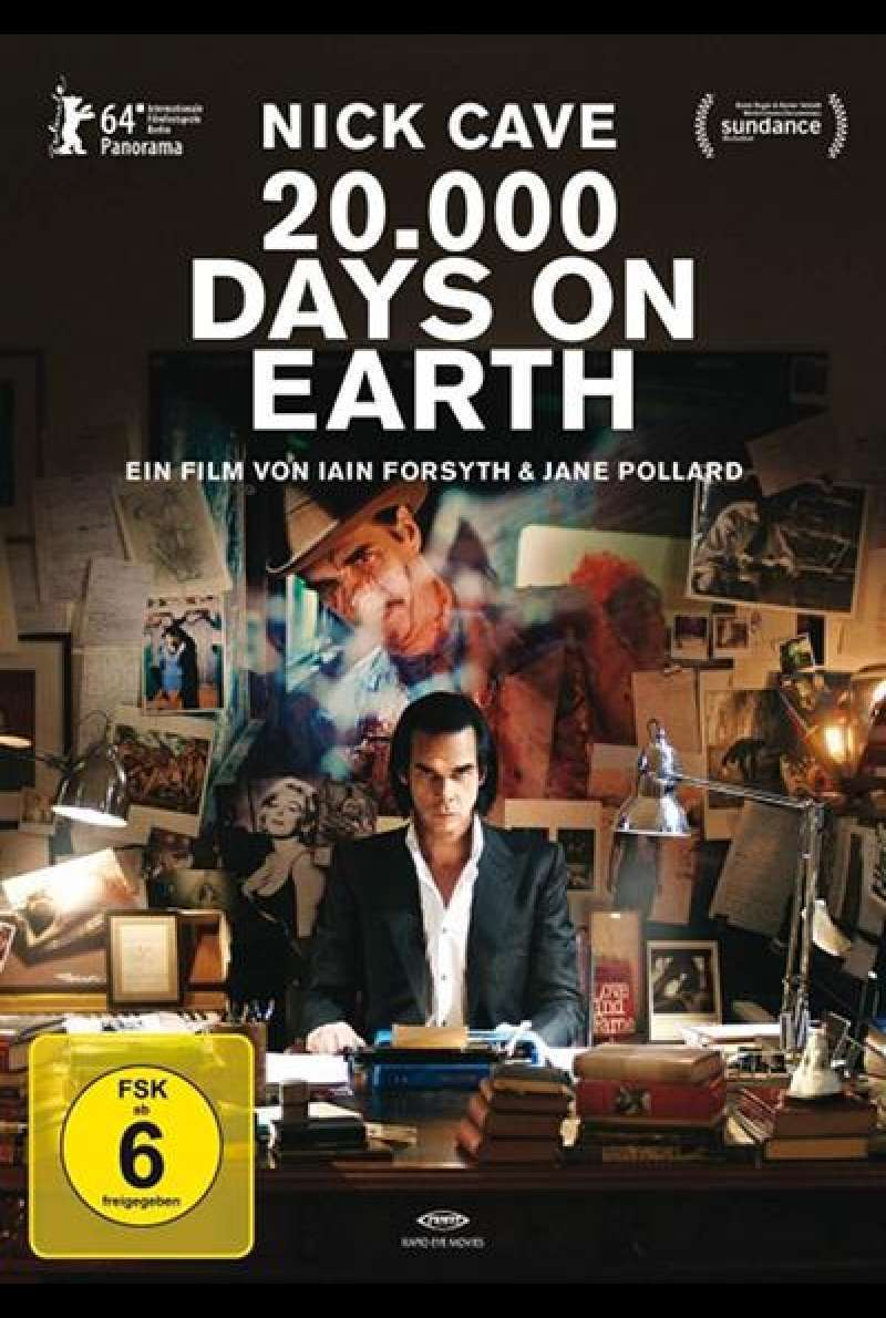 20,000 Days on Earth - DVD-Cover