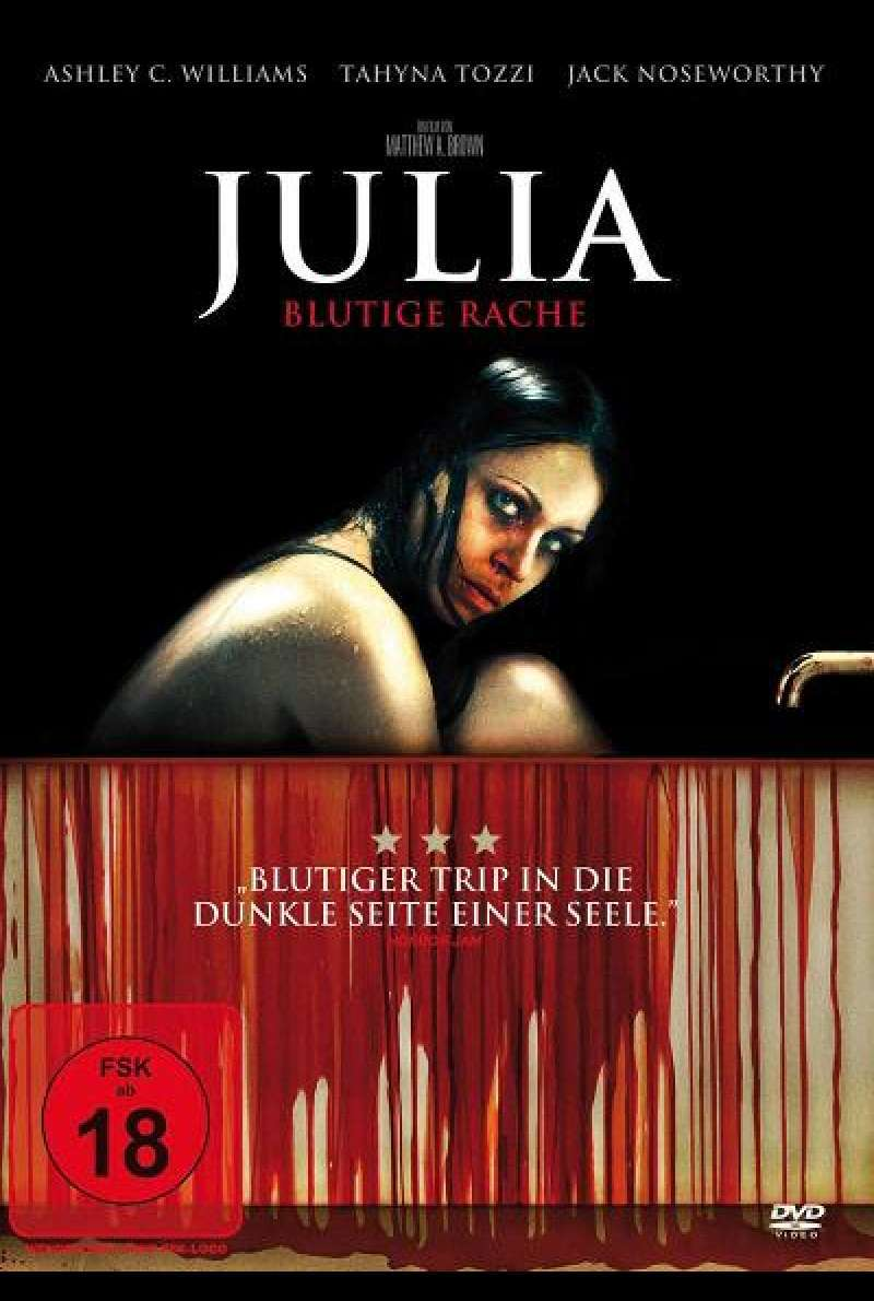 Julia - Blutige Rache - DVD-Cover
