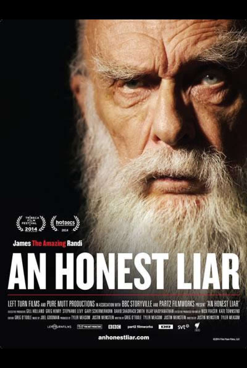 An Honest Liar - Filmplakat (US)