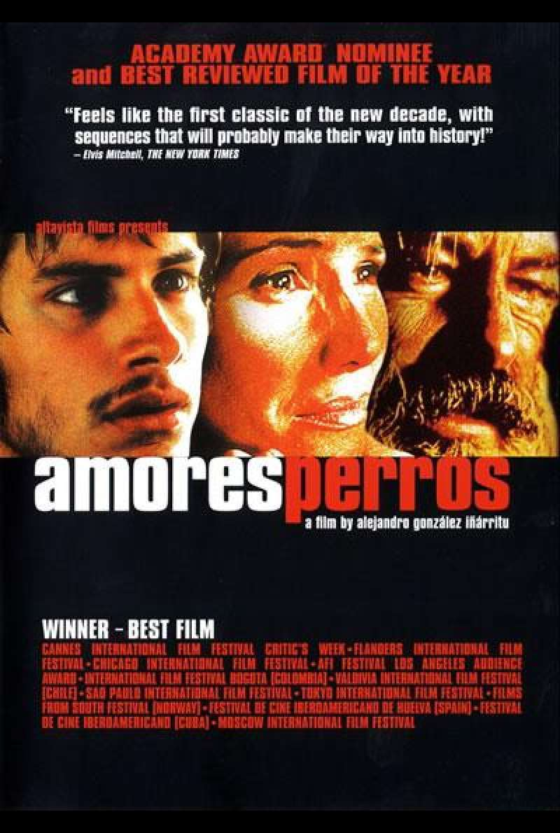 Amores Perros - Filmplakat (INT)
