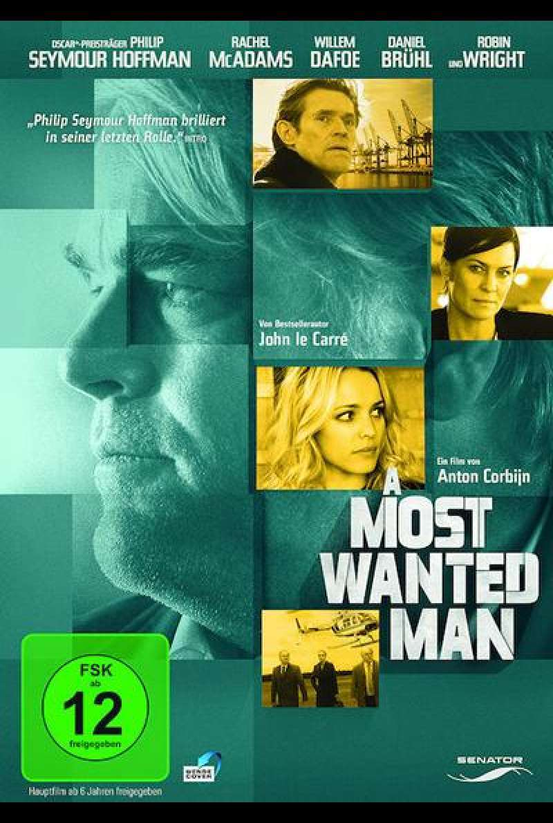 A Most Wanted Man - DVD-Cover