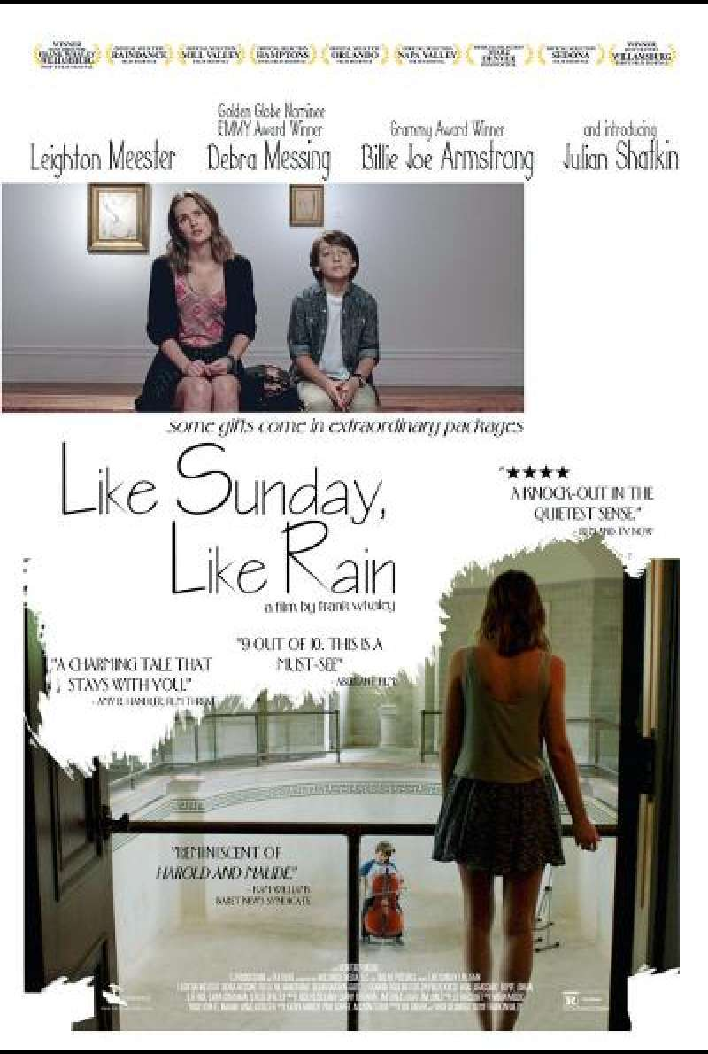Like Sunday, Like Rain - Filmplakat (US)