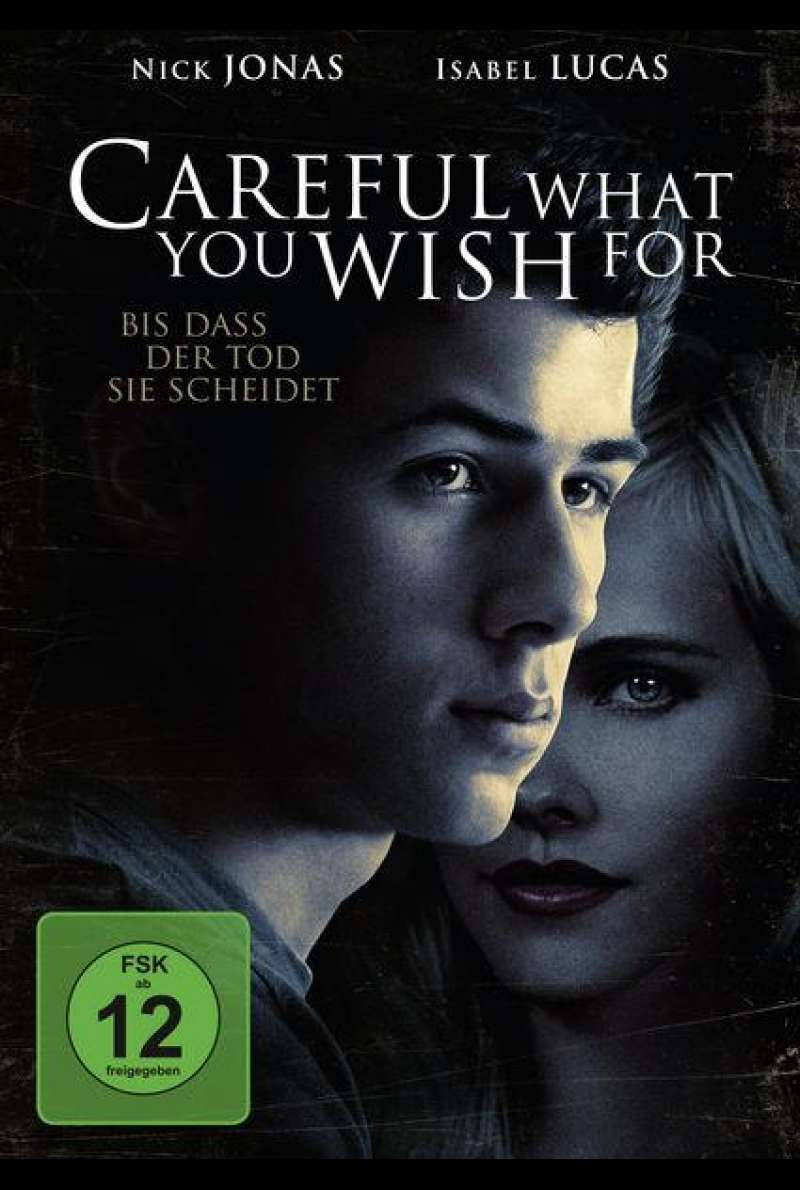 Careful What You Wish For - DVD-Cover