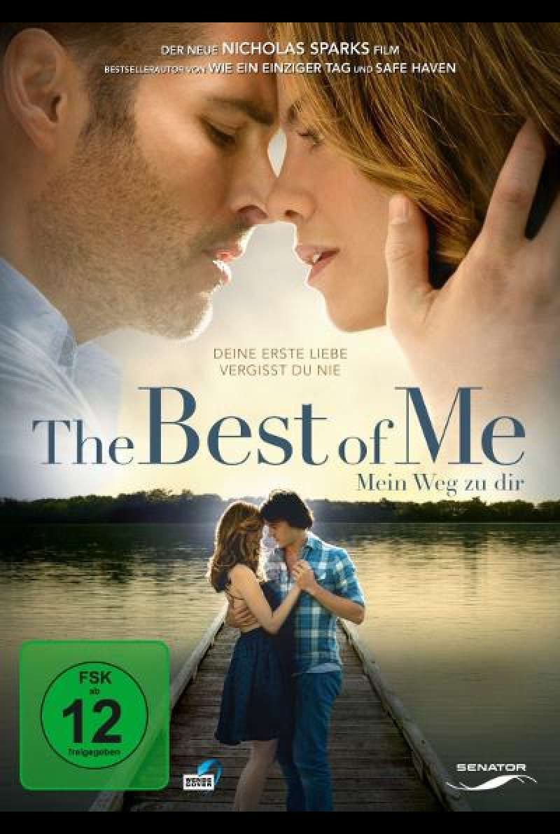 The Best of Me - Mein Weg zu dir - DVD-Cover