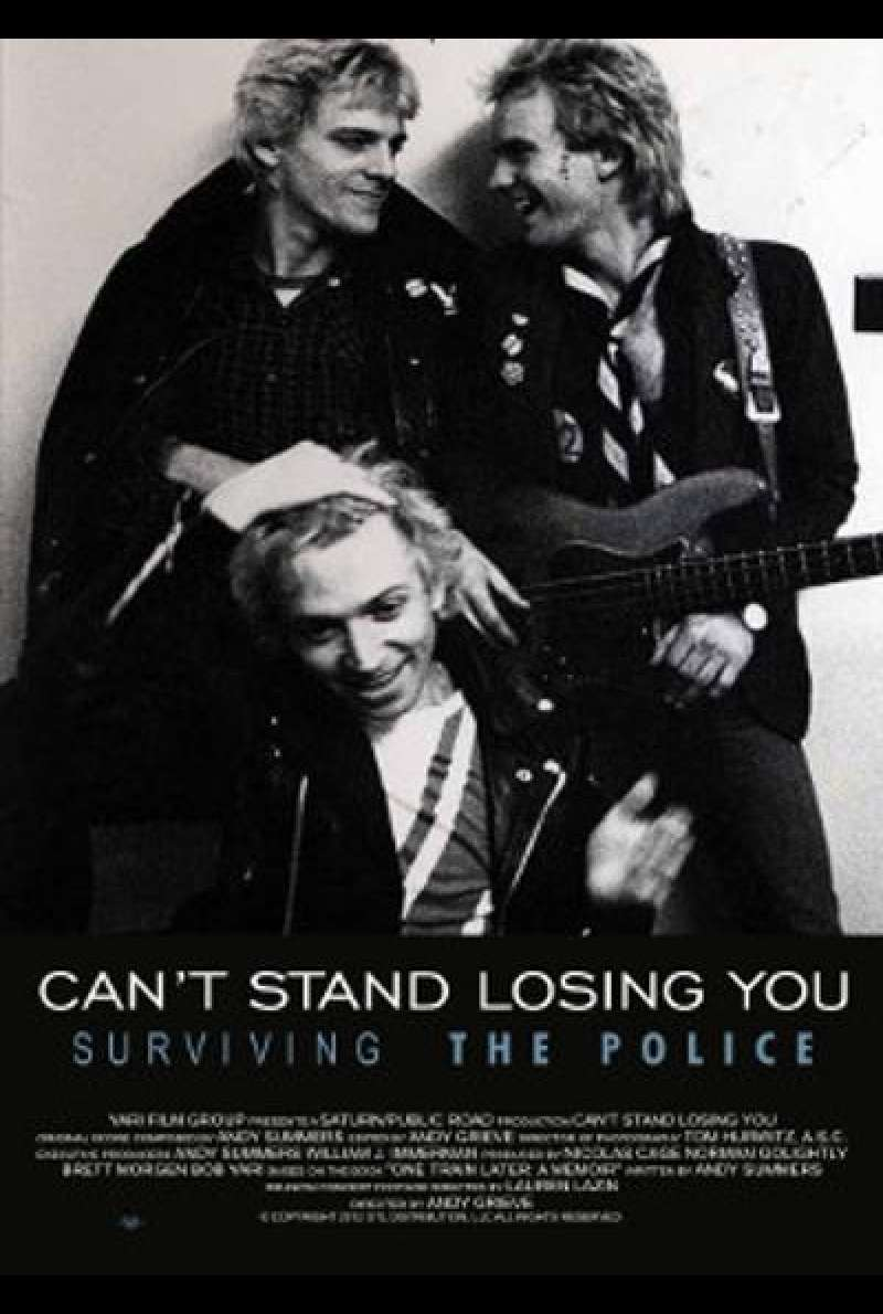 Can't Stand Losing You: Surviving the Police - Filmplakat (US)