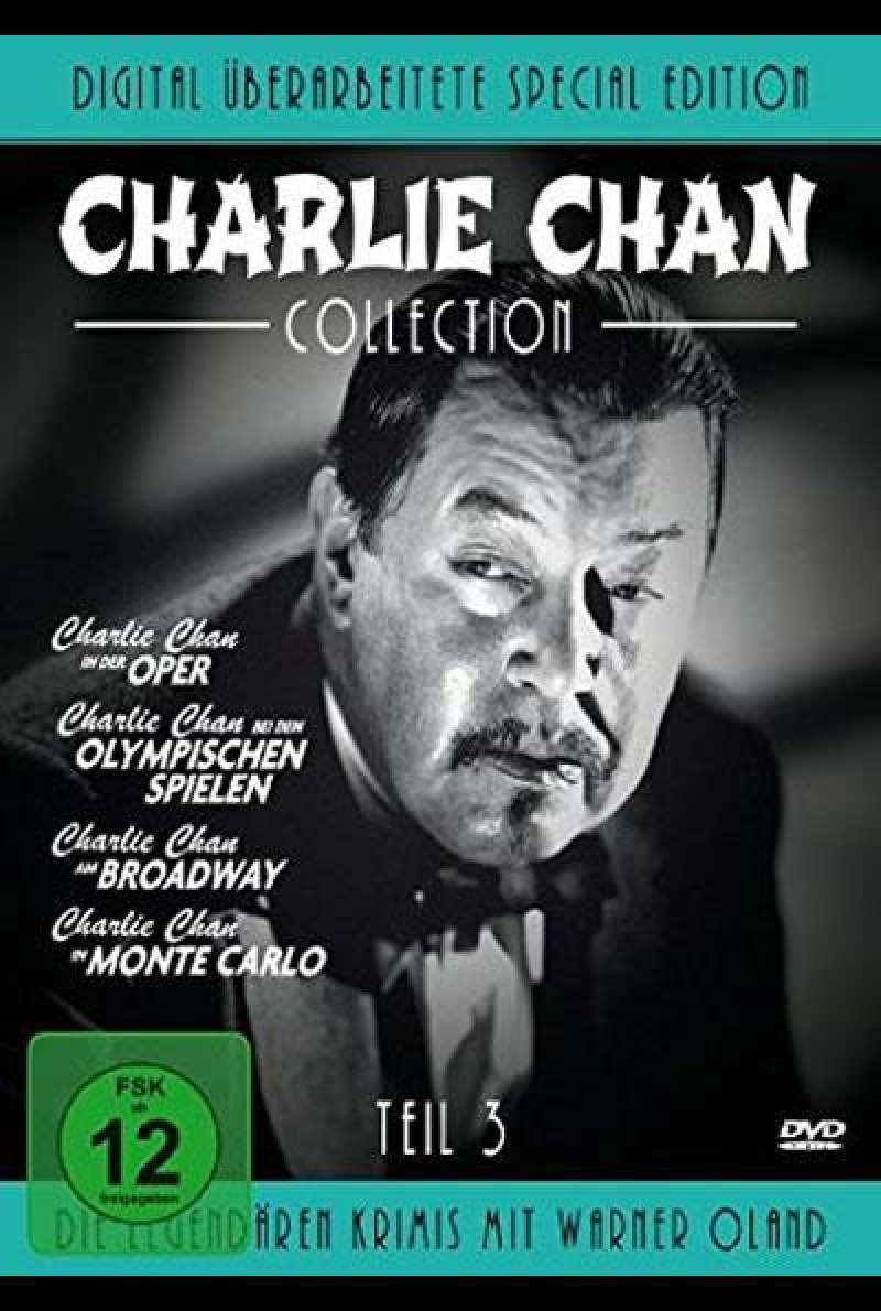 Charlie Chan Collection - Teil 3 - DVD-Cover
