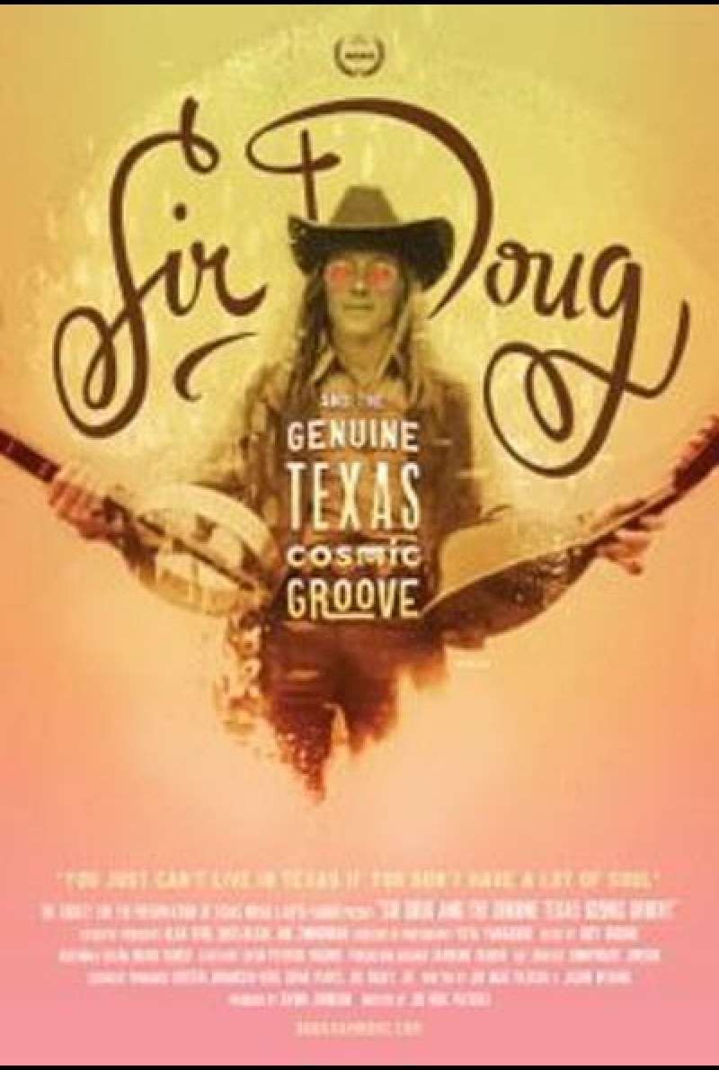 Sir Doug and the Genuine Texas Cosmic Groove - Filmplakat (US)
