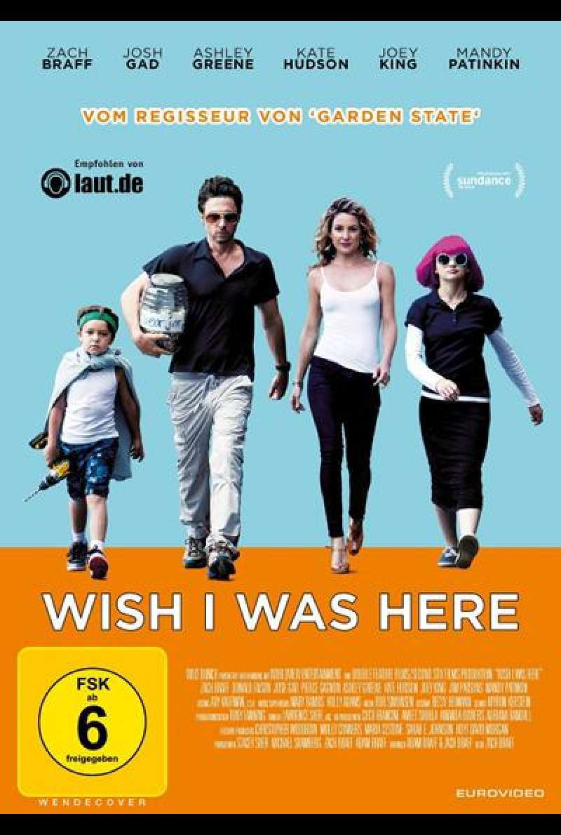 Wish I Was Here - DVD-Cover