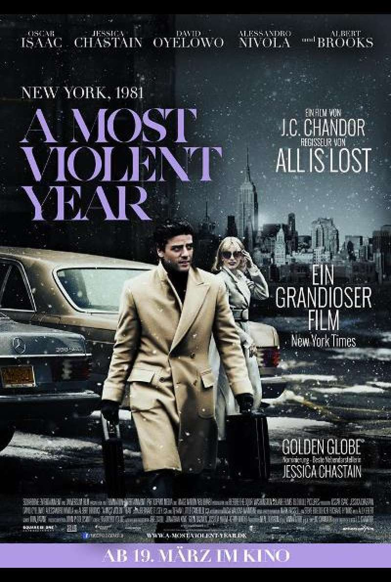 A Most Violent Year - Filmplakat