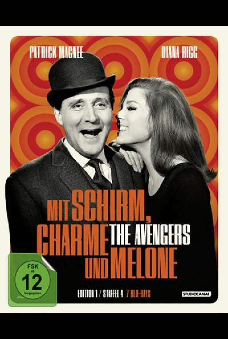 Mit Schirm, Charme und Melone (Edition 1) - Blu-ray Cover
