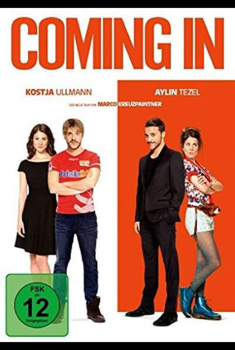 Coming In - DVD-Cover