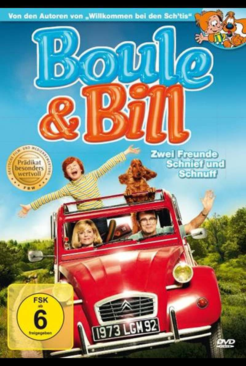 Boule & Bill - DVD-Cover