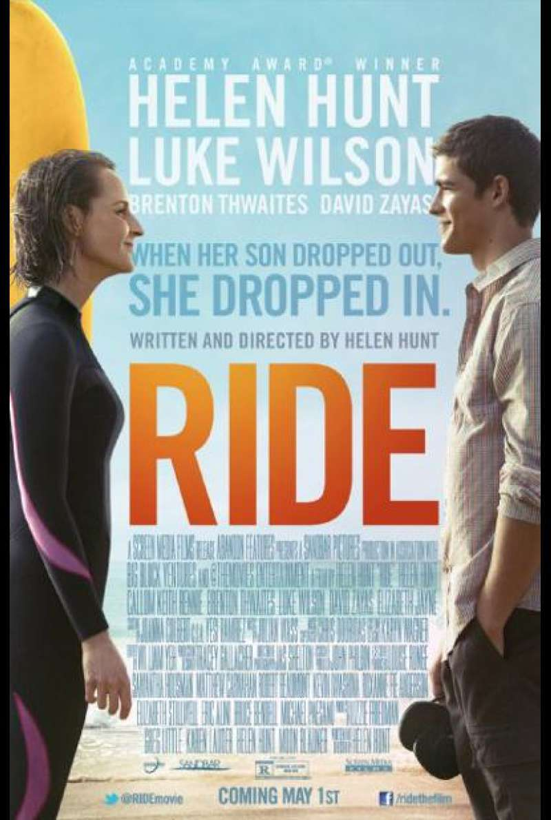 Ride - Filmplakat (US)