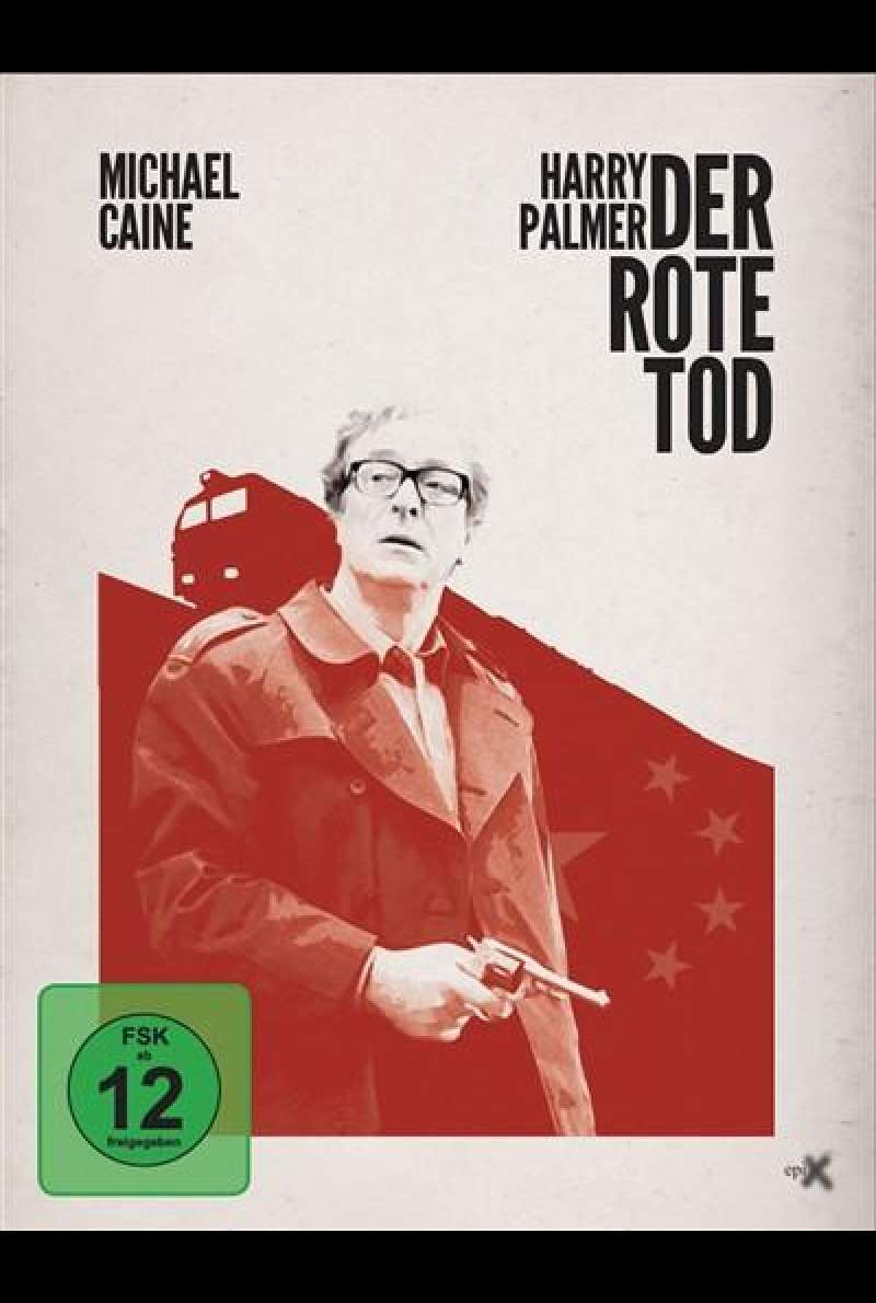 Harry Palmer - Der rote Tod - DVD-Cover